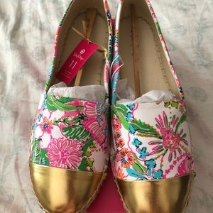 NWT Lilly Pulitzer for Target pink espadrilles 11